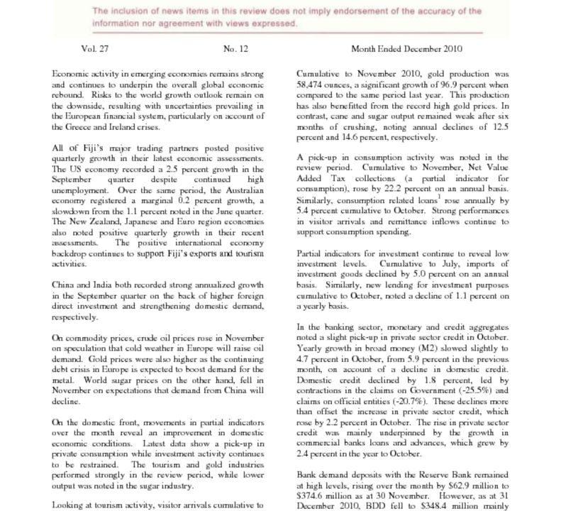 thumbnail of Economic Review – December 2010