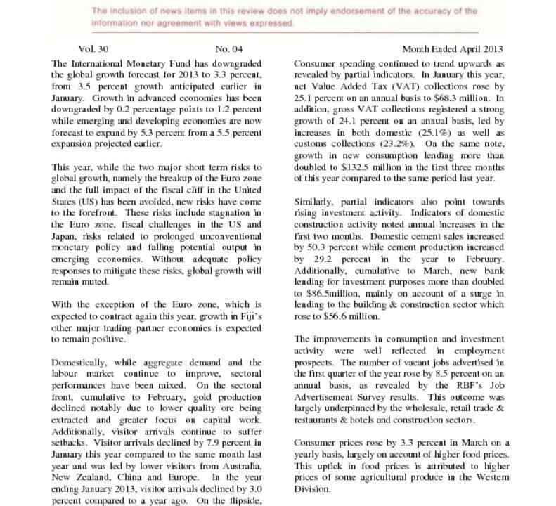 thumbnail of RBF Economic Review – April 2013