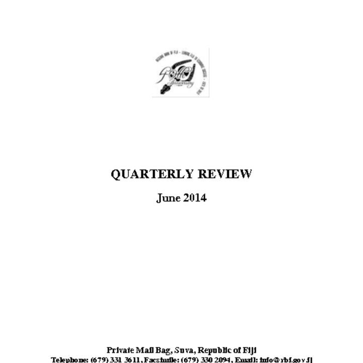 thumbnail of RBF Quarterly Review – June 2014