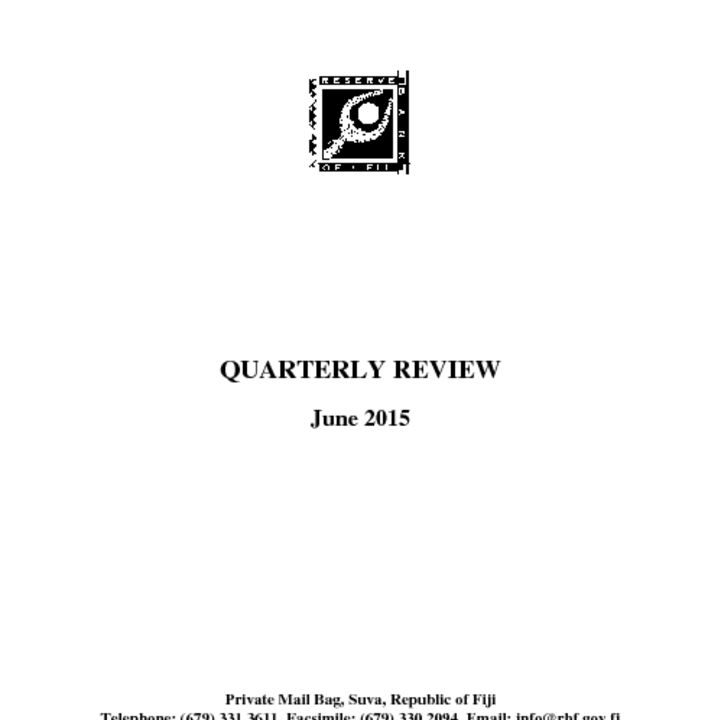 thumbnail of RBF Quarterly Review_June 2015
