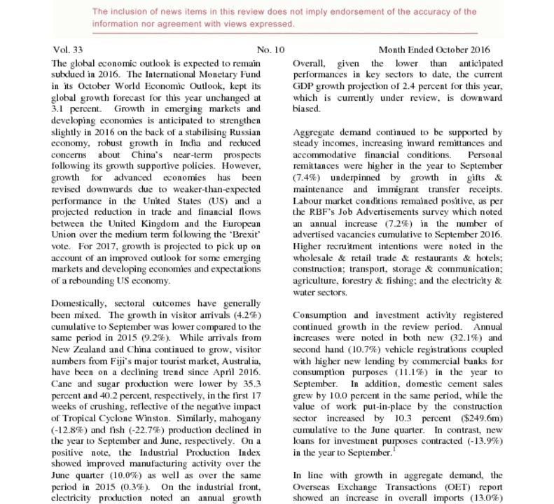 thumbnail of Economic Review October 2016