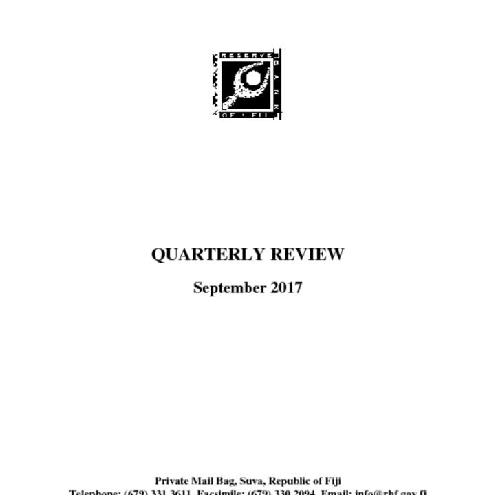 thumbnail of RBF Quarterly Review – September 2017