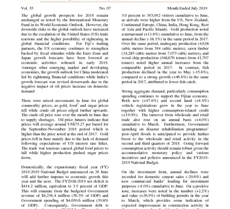 thumbnail of Economic Review July 2018