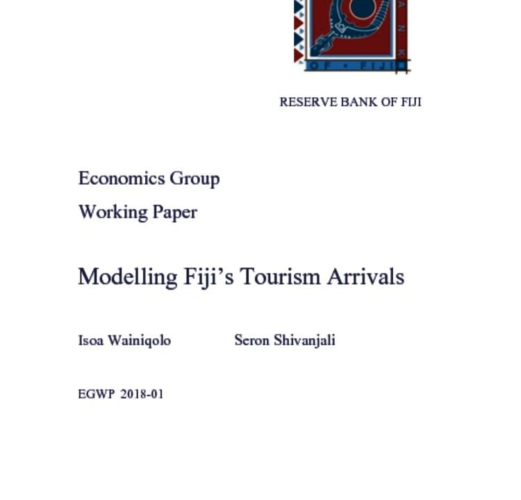 thumbnail of Modelling-Fiji-s-Tourism-Arrivals