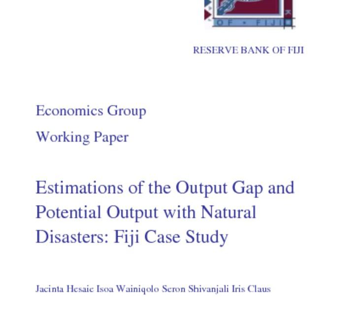 thumbnail of Estimations-of-the-Output-Gap-and-Potential-Output-with-Natural-Disasters-Fiji-Case-Study-by-Jacinta-Hesaie-Isoa-Wainiqolo-Seron-Shivanjali-Iris-Claus