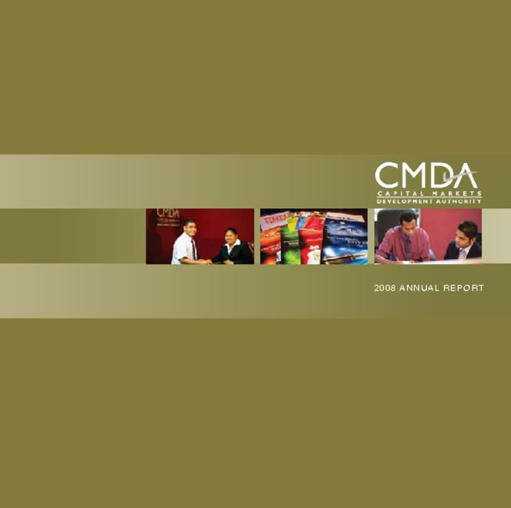 thumbnail of CMDA Annual Report 2008