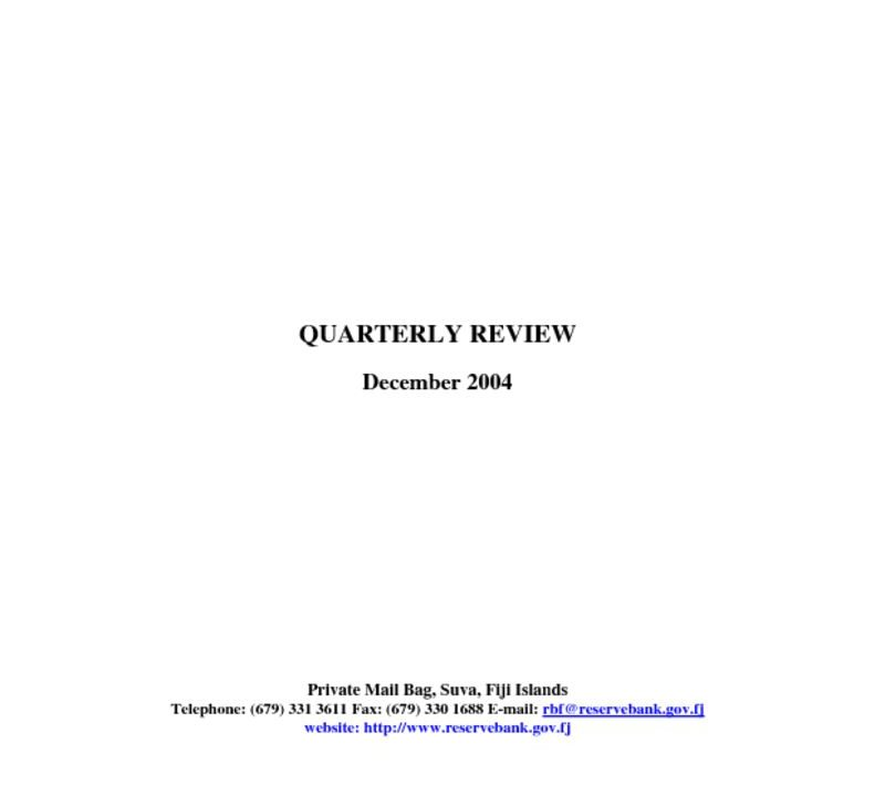 thumbnail of Dec04 Quarterly Review