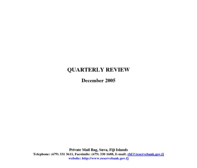 thumbnail of Dec05 Quarterly Review