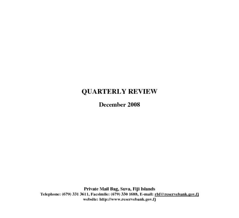 thumbnail of Dec08 Quarterly Review