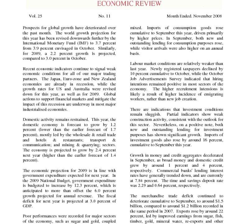 thumbnail of Economic Review (Nov-08)