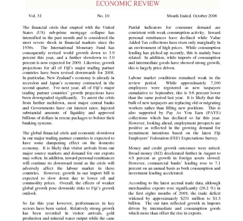 thumbnail of Economic Review (Oct-08)