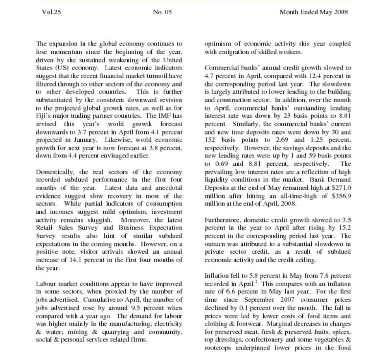 thumbnail of EconomicReview – May 2008