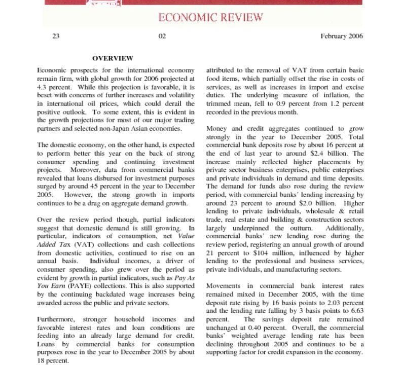 thumbnail of Feb06 Economic Review