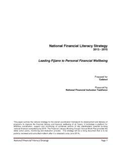 thumbnail of Fiji-National-Financial-Literacy-Strategy