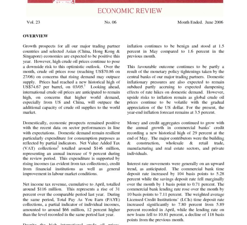thumbnail of Jun06 Economic Review