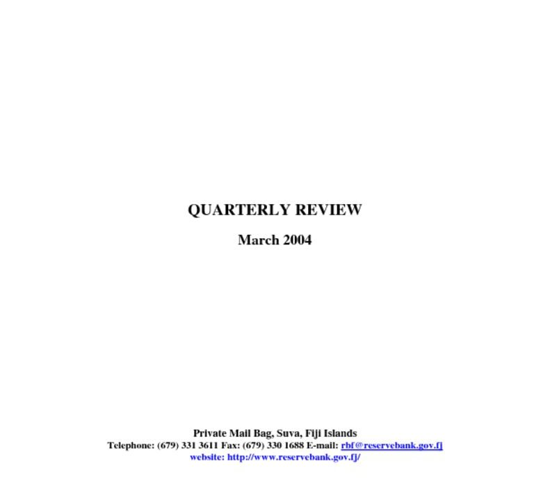 thumbnail of Mar04 Quarterly Review