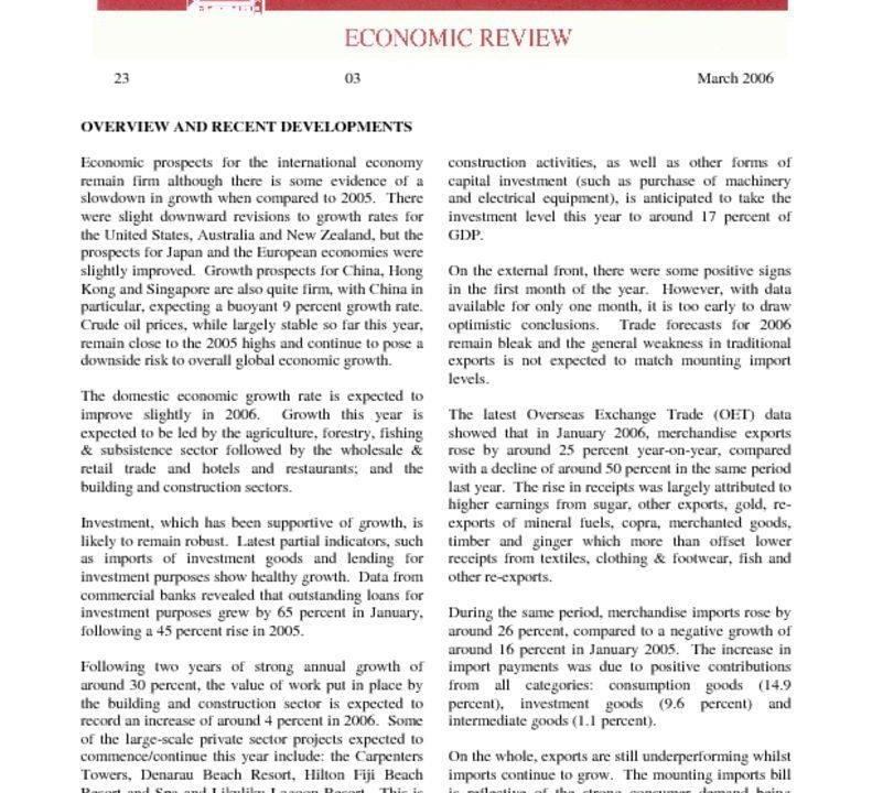 thumbnail of Mar06 Economic Review
