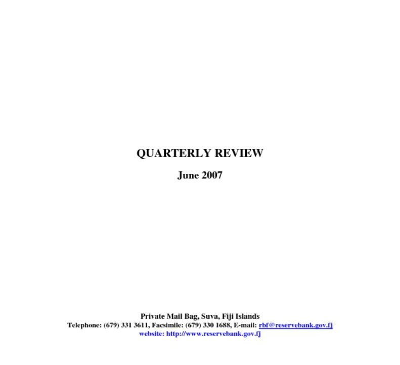 thumbnail of RBF Quarterly Review (Jun-07)