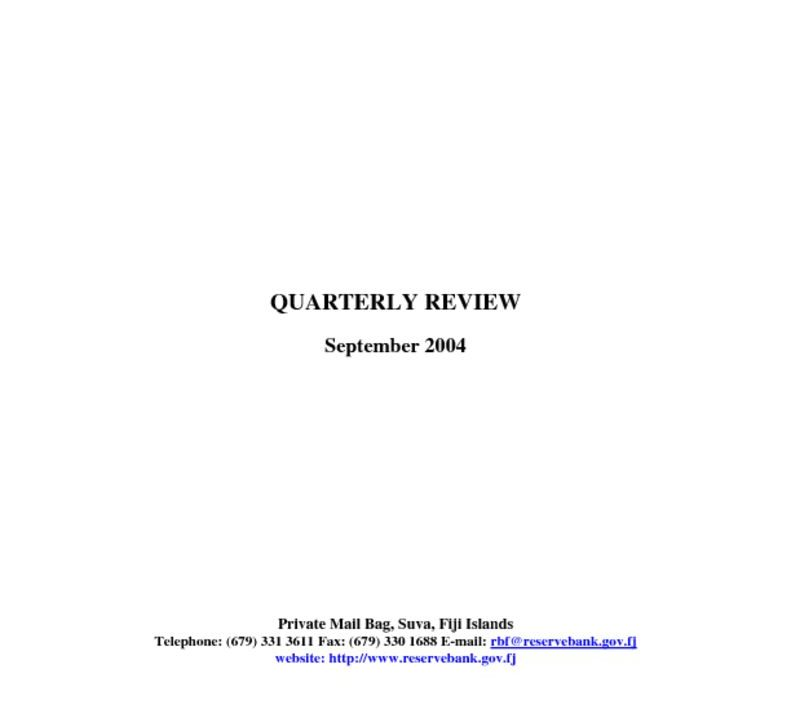 thumbnail of Sep04 Quarterly Review