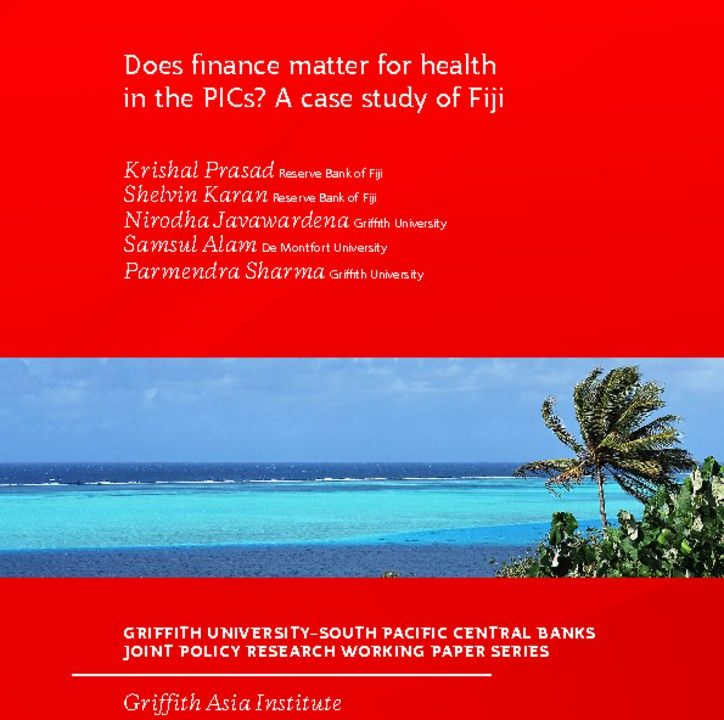 thumbnail of Does finace matter for health in the PIC, a case study for Fiji