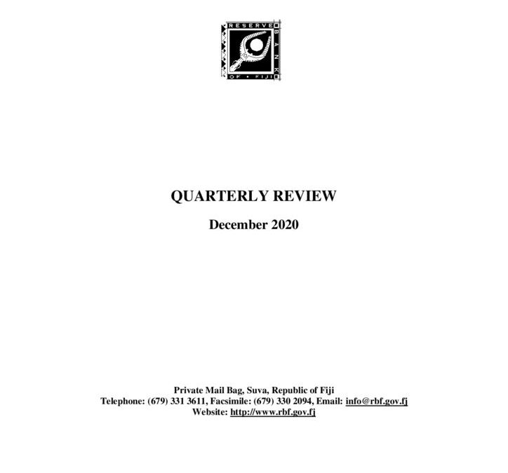 thumbnail of Quarterly Review December 2020