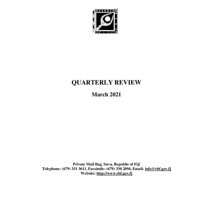 thumbnail of Quarterly Review March 2021